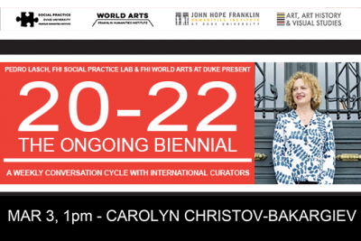 Carolyn Christov-Bakargiev (Documenta 13 Curator & Castello di Rivoli Director) at 20-22 The Ongoing Biennial