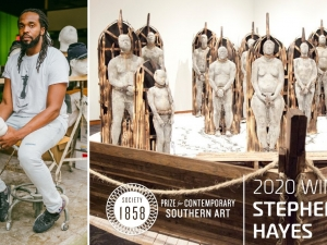 Stephen Hayes Wins 1858 Prize for Contemporary Southern Art